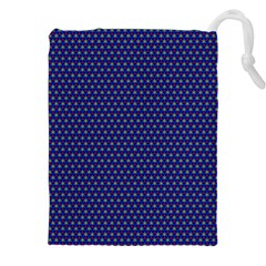 Fractal Art Honeycomb Mathematics Drawstring Pouches (xxl)