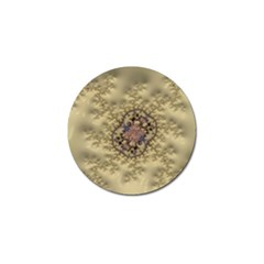 Fractal Art Colorful Pattern Golf Ball Marker (10 Pack)