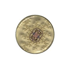 Fractal Art Colorful Pattern Hat Clip Ball Marker (10 Pack)