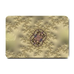 Fractal Art Colorful Pattern Small Doormat