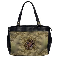 Fractal Art Colorful Pattern Office Handbags