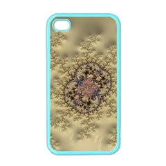 Fractal Art Colorful Pattern Apple iPhone 4 Case (Color)