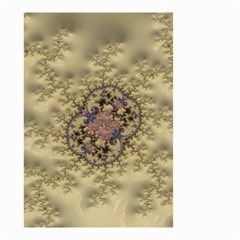 Fractal Art Colorful Pattern Small Garden Flag (two Sides)