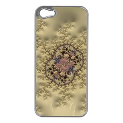 Fractal Art Colorful Pattern Apple Iphone 5 Case (silver)