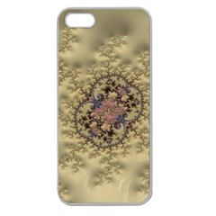 Fractal Art Colorful Pattern Apple Seamless Iphone 5 Case (clear)