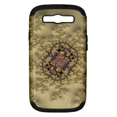 Fractal Art Colorful Pattern Samsung Galaxy S Iii Hardshell Case (pc+silicone)