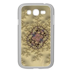 Fractal Art Colorful Pattern Samsung Galaxy Grand Duos I9082 Case (white)