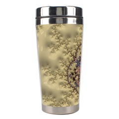 Fractal Art Colorful Pattern Stainless Steel Travel Tumblers