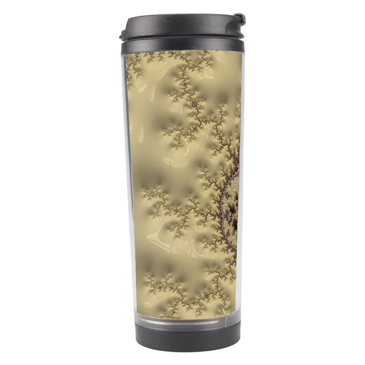 Fractal Art Colorful Pattern Travel Tumbler