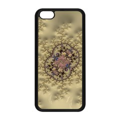 Fractal Art Colorful Pattern Apple Iphone 5c Seamless Case (black)