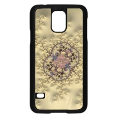Fractal Art Colorful Pattern Samsung Galaxy S5 Case (black)