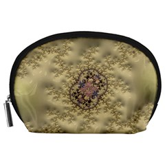 Fractal Art Colorful Pattern Accessory Pouches (large)
