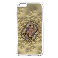 Fractal Art Colorful Pattern Apple Iphone 6 Plus/6s Plus Enamel White Case
