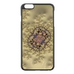 Fractal Art Colorful Pattern Apple Iphone 6 Plus/6s Plus Black Enamel Case