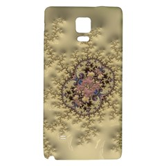 Fractal Art Colorful Pattern Galaxy Note 4 Back Case