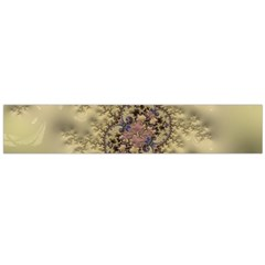 Fractal Art Colorful Pattern Flano Scarf (large)