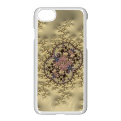 Fractal Art Colorful Pattern Apple Iphone 7 Seamless Case (white)