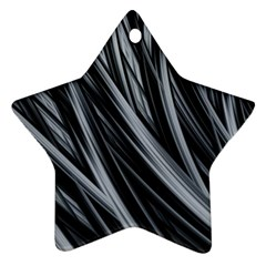 Fractal Mathematics Abstract Star Ornament (two Sides)