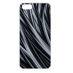 Fractal Mathematics Abstract Apple Iphone 5 Seamless Case (white)