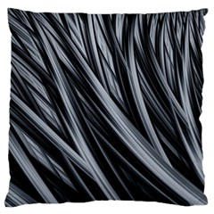 Fractal Mathematics Abstract Large Flano Cushion Case (two Sides)