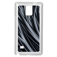Fractal Mathematics Abstract Samsung Galaxy Note 4 Case (white)