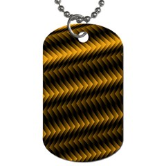 Ornament Stucco Close Pattern Art Dog Tag (two Sides)