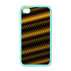 Ornament Stucco Close Pattern Art Apple Iphone 4 Case (color)