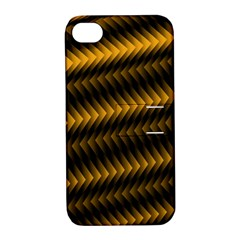 Ornament Stucco Close Pattern Art Apple Iphone 4/4s Hardshell Case With Stand