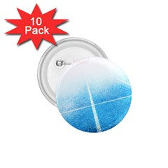 Court Sport Blue Red White 1 75  Buttons (10 Pack)