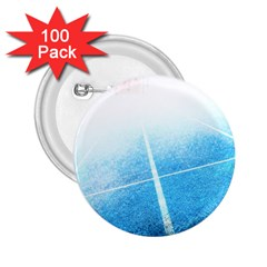 Court Sport Blue Red White 2 25  Buttons (100 Pack)