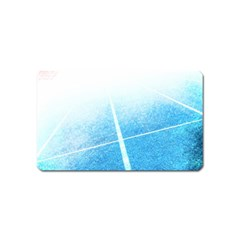 Court Sport Blue Red White Magnet (name Card)