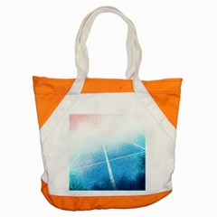 Court Sport Blue Red White Accent Tote Bag