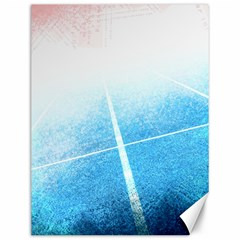 Court Sport Blue Red White Canvas 12  X 16