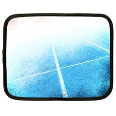 Court Sport Blue Red White Netbook Case (xl)