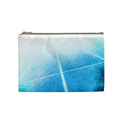 Court Sport Blue Red White Cosmetic Bag (medium)