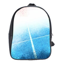 Court Sport Blue Red White School Bags(large)