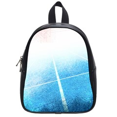 Court Sport Blue Red White School Bags (small)