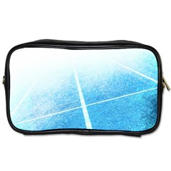 Court Sport Blue Red White Toiletries Bags