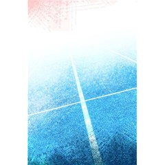 Court Sport Blue Red White 5 5  X 8 5  Notebooks