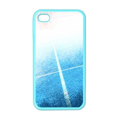 Court Sport Blue Red White Apple Iphone 4 Case (color)