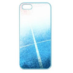 Court Sport Blue Red White Apple Seamless Iphone 5 Case (color)