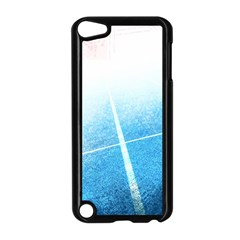 Court Sport Blue Red White Apple Ipod Touch 5 Case (black)