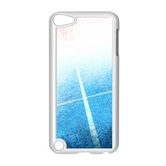 Court Sport Blue Red White Apple Ipod Touch 5 Case (white)