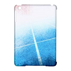 Court Sport Blue Red White Apple Ipad Mini Hardshell Case (compatible With Smart Cover)