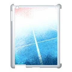 Court Sport Blue Red White Apple Ipad 3/4 Case (white)