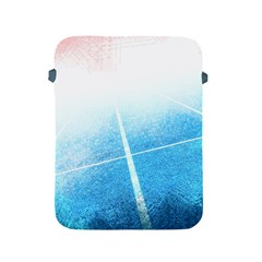 Court Sport Blue Red White Apple Ipad 2/3/4 Protective Soft Cases
