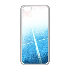 Court Sport Blue Red White Apple Iphone 5c Seamless Case (white)