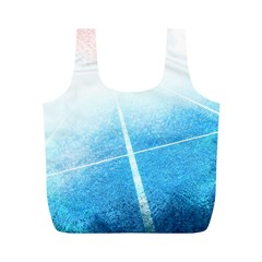 Court Sport Blue Red White Full Print Recycle Bags (m)