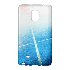 Court Sport Blue Red White Galaxy Note Edge