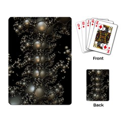 Fractal Math Geometry Backdrop Playing Card